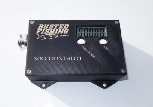 Fishing Line Counter - Meters