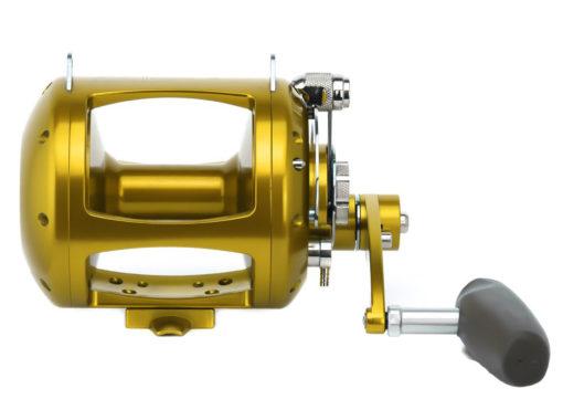 Avet EXW 5/2 2-Speed Lever Drag Big Game Reel Gold