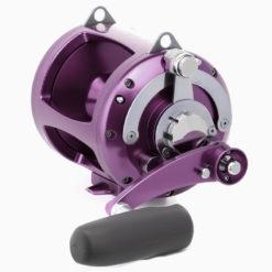 Avet EXW 5/2 2-Speed Lever Drag Big Game Reel Purple