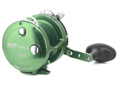 Avet HX 5/2 MC Raptor 2-Speed Lever Drag Casting Reel Green