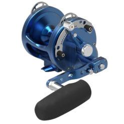 Avet HXW 5/2 MC Raptor 2-Speed Lever Drag Casting Reel Blue