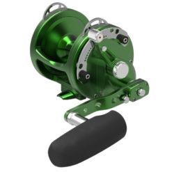 Avet HXW 5/2 MC Raptor 2-Speed Lever Drag Casting Reel Green