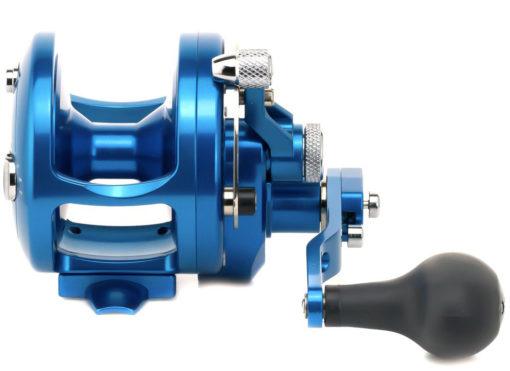 Avet JX 6/3 MC Raptor 2-Speed Lever Drag Casting Reel Blue