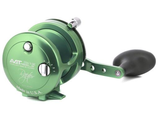 Avet JX 6/3 MC Raptor 2-Speed Lever Drag Casting Reel Green