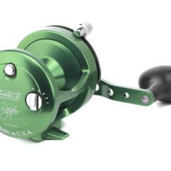 Avet LX 6/3 MC Raptor 2-Speed Lever Drag Casting Reel Green