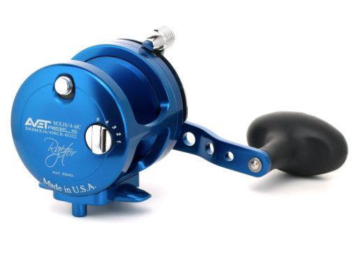 Avet MXJ 6/4 MC Raptor 2-Speed Lever Drag Casting Reel Blue