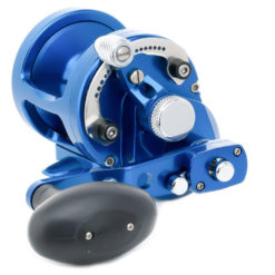 Avet SX 6/4 MC Raptor 2-Speed Lever Drag Casting Reel Blue