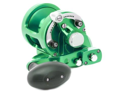 Avet SX 6/4 MC Raptor 2-Speed Lever Drag Casting Reel Green