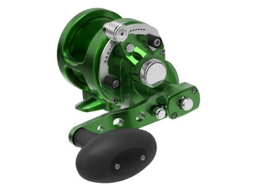 Avet SXJ 6/4 MC Raptor 2-Speed Lever Drag Casting Reel Green