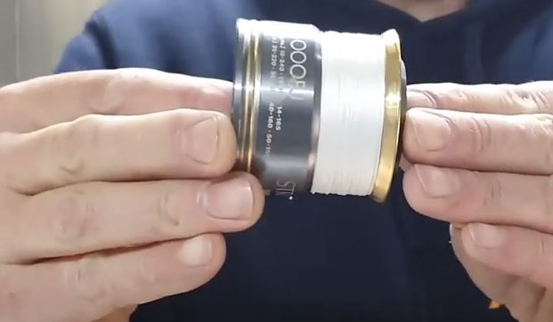 Perfectly spooled reel